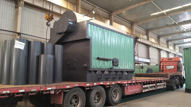 3 ton solid fuel steam boiler delivery to Bangladesh