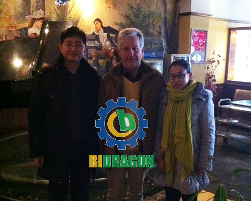 Congratulations on successful cooperation with Ireland customer
