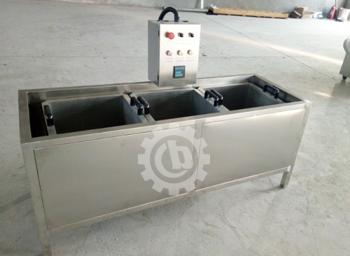 Chili Blanching Machine Ready for Delivery
