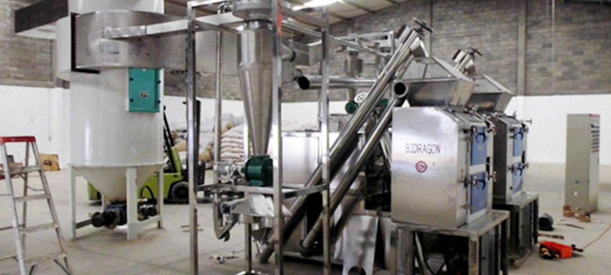 BCH 400 Chili Paprika Powder Plant Installed in Mexico