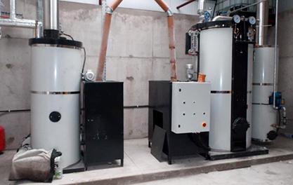 300, 000Kcal/h pellet heating water boiler in Ireland