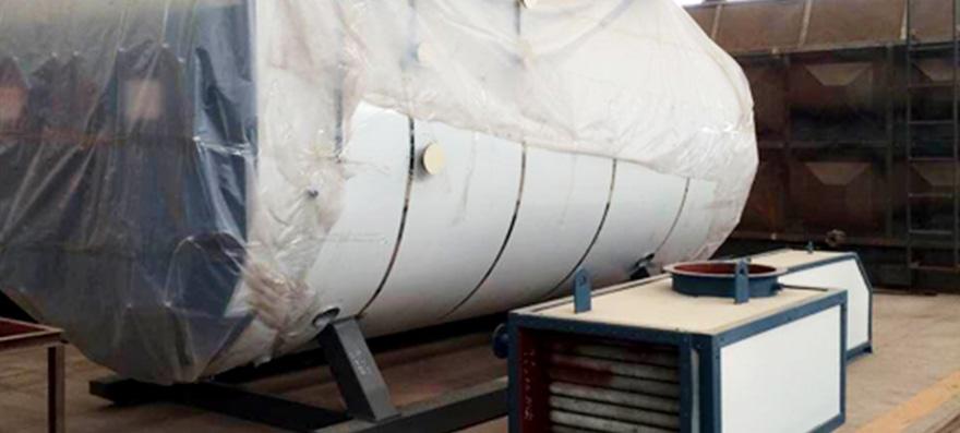 4 ton/h oil fired steam boiler in Egypt