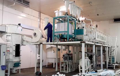 8-10T/day Corn Flour milling plant