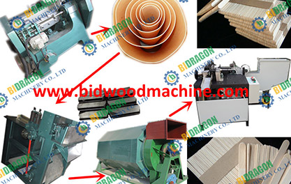 Iran client ice cream sticks making line and tongue depresor making line