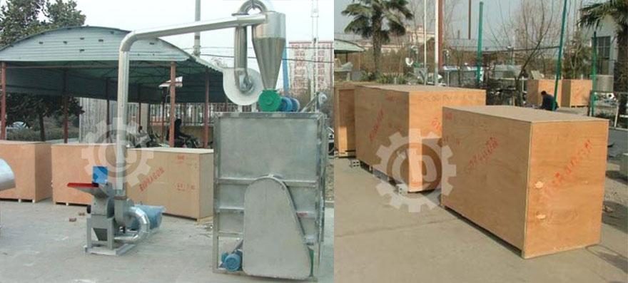 BCH800 Chili Powder Making Machine to Malaysia