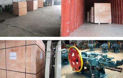 BZ94 Series Wire Nail Making Machine Exported to Bangladesh