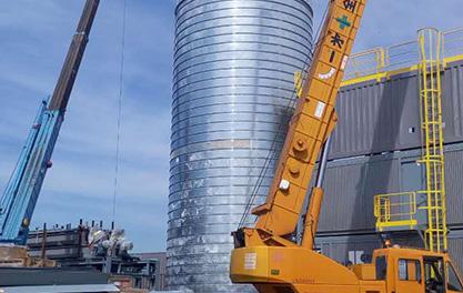700 Ton Cement Silo Project