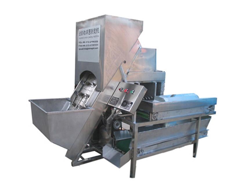 Onion Peeling Machine