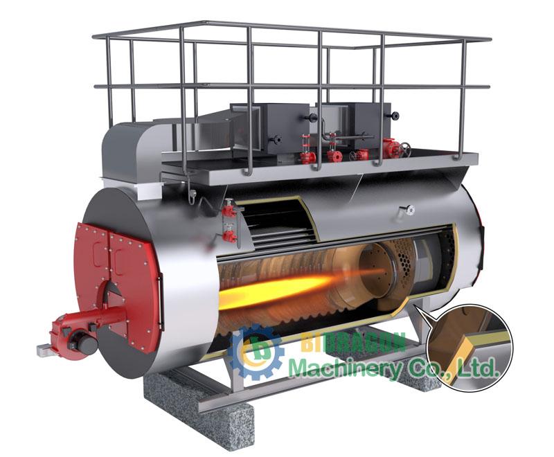 WNS Series Oil Horizontal Steam Boiler